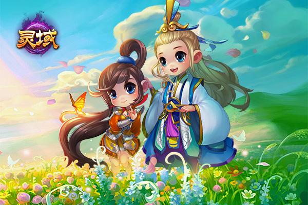 《灵域》春日宴:踏青伴随从 庄园采集新玩法尝鲜